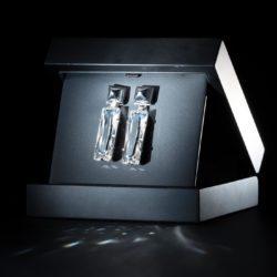 Aphrodite Earrings small silver box