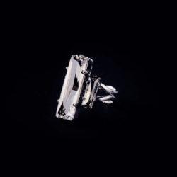 Bjorn van den Berg Fragile Ring Silver Clear.diamond