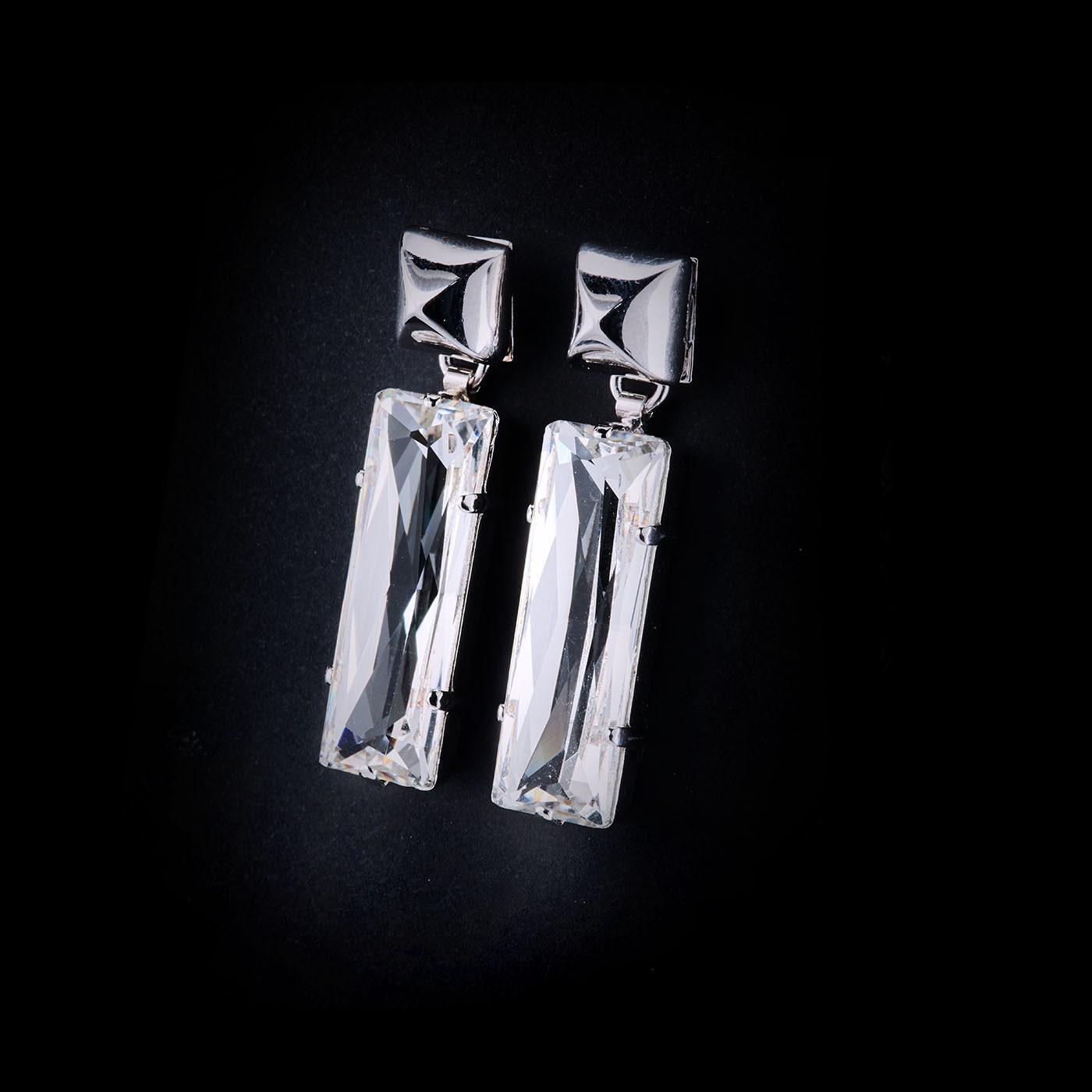 Bjorn van den Berg Fragile Earrings Small Clear
