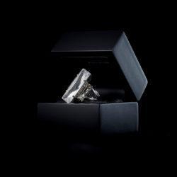 Bjorn van den Berg Fragile Ring Silver Clear B.diamond inbox