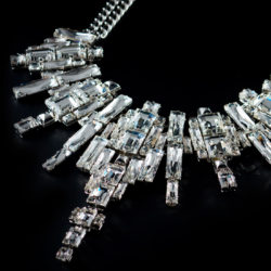 Bjorn van den Berg Decadence Necklace Limited Edition Detail Platinum Clear 1