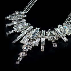 Bjorn van den Berg Decadence Necklace Limited Edition Detail Platinum Clear Thumb