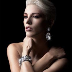 Bjorn van den Berg Earrings XL Silver bracelet